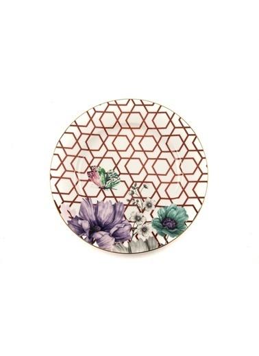 Mikasa Moor Lily 6Lı Pasta Tabağı 20Cm Renkli